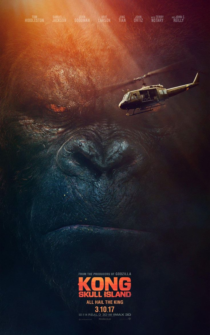 Kong: Skull Island...should be awesome...but can Kong really be that big?