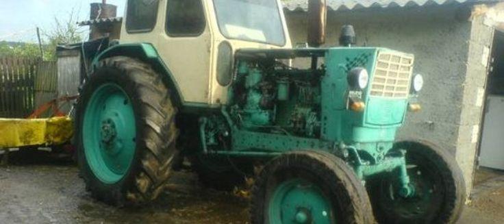 Легендарный трактор ЮМЗ