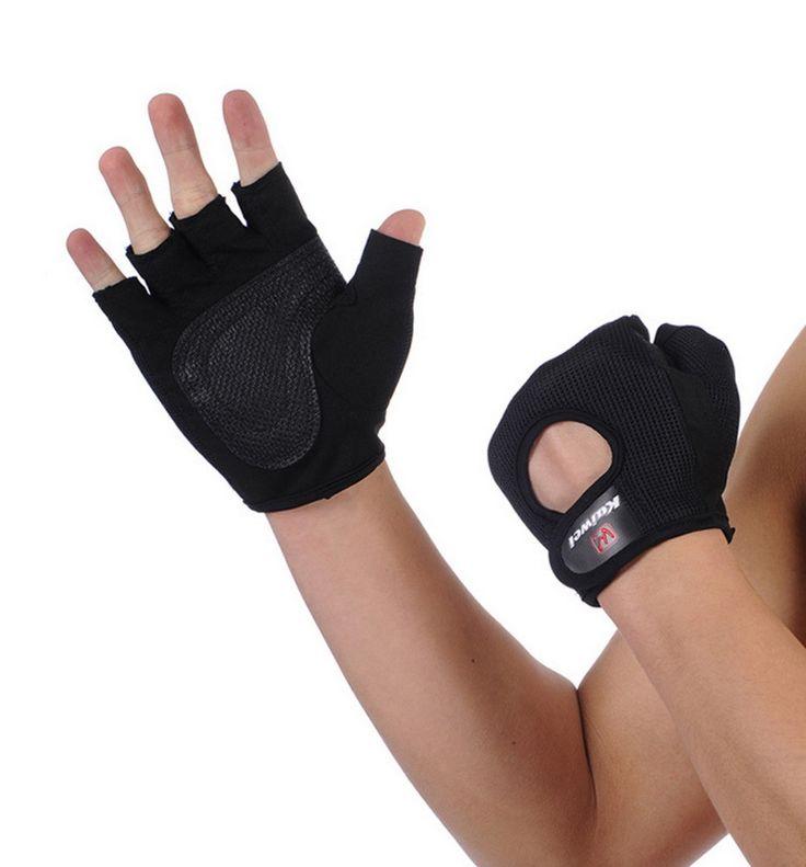 Бесплатная доставка дышащий бодибилдинг обучение перчатки для фитнеса спорт мужчин тренажерный зал оборудование взвешенный тяжелая атлетика тренировки упражнение