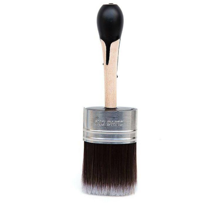 NEW S50 Clingon! Brush Superior Short Handle Chalk Furniture Paint Brush