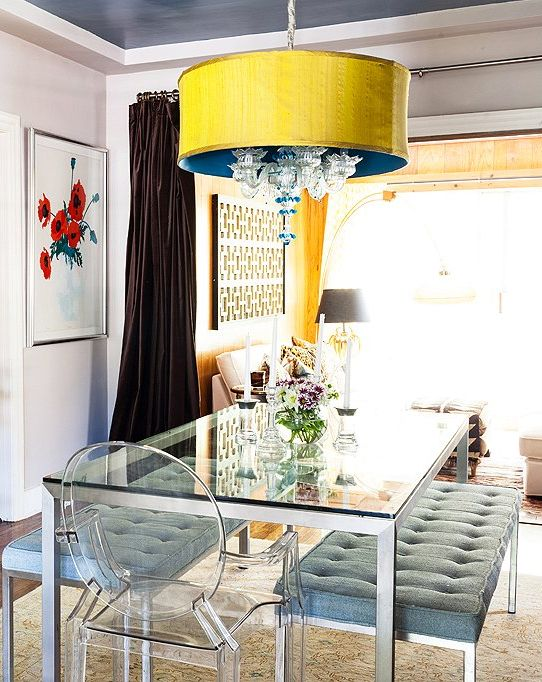 Your Guide to Finding the Perfect Dining Room Light. Glass Kitchen TablesDining  ...