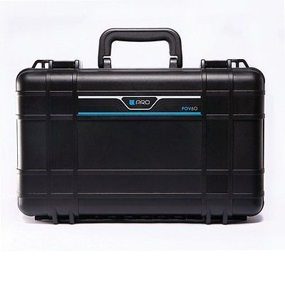 UK Pro POV 60 Scuba Diving Dry Box Holds Three GoPro Hero Cameras + Accessories