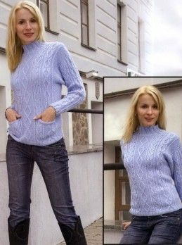 Pullover in Textured Pattern #Knitting Size: 10/12 http://knitchart.com/item/pullover-in-textured-pattern-2.html