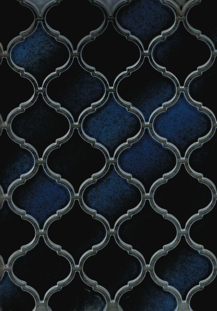 Dark Blue Lantern Walls  by Academy Tile
