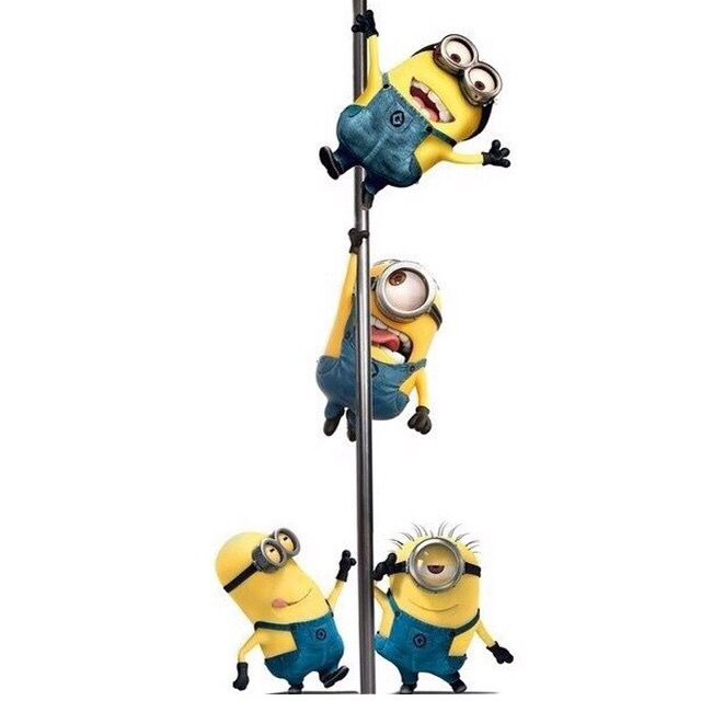 If the minions can do it - anyone can XD #minion#poledance