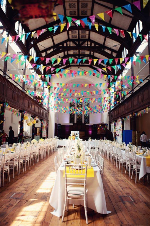 Decorations A Colourful Happy Multicultural Brighton Wedding UK Blog Whimsical Wonderland Weddings