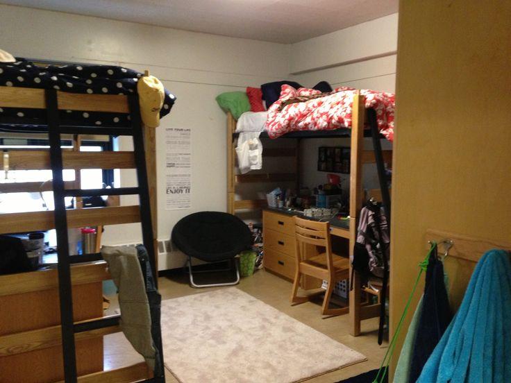 Dorm Room At Uconn In Brock Dorm Rooms Pinterest The