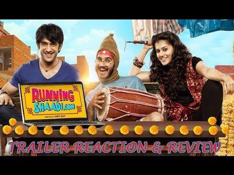 Running Shaadi | Official Trailer | Taapsee Pannu | Amit Sadh | Releases on 17th February 2017 - YouTube