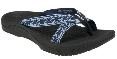 Kalso Earth Shoe Cabo San Lucas 2 in Sea Blue Multi from PlanetShoes.com