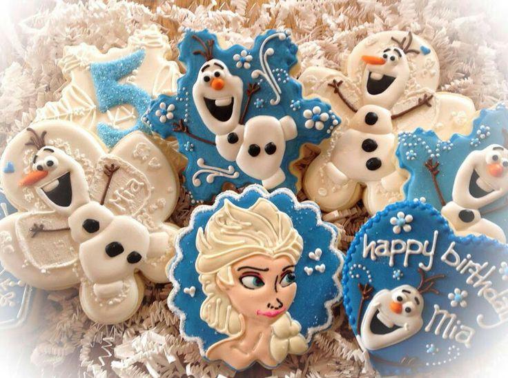 Frozen Birthday Cookies