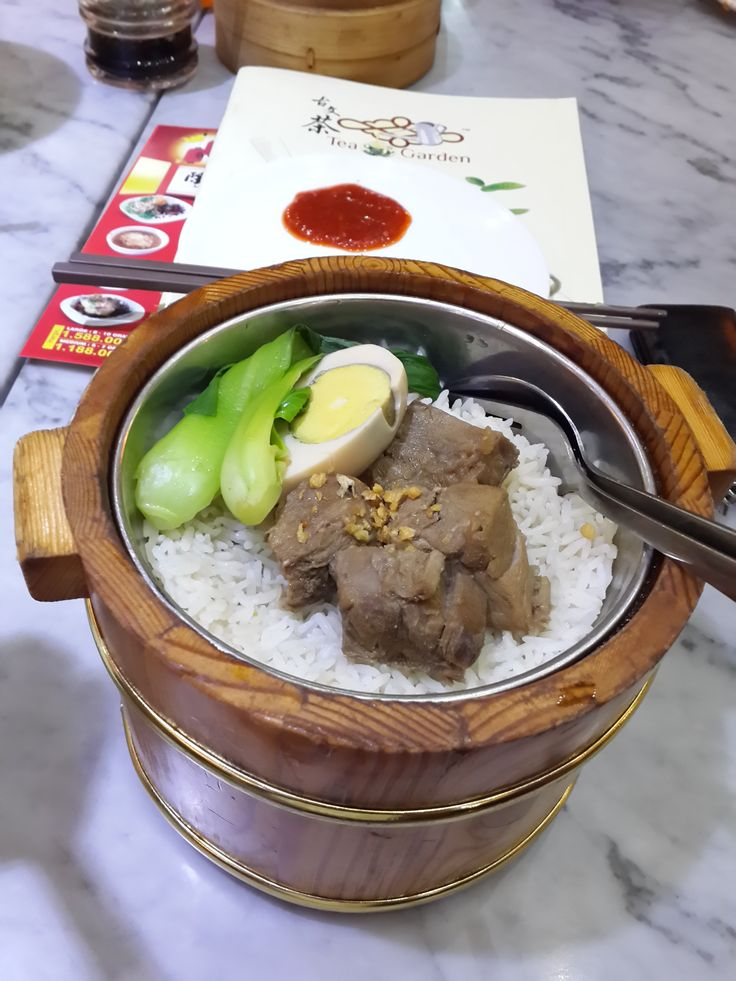 Steam Rice with Beef Brisket