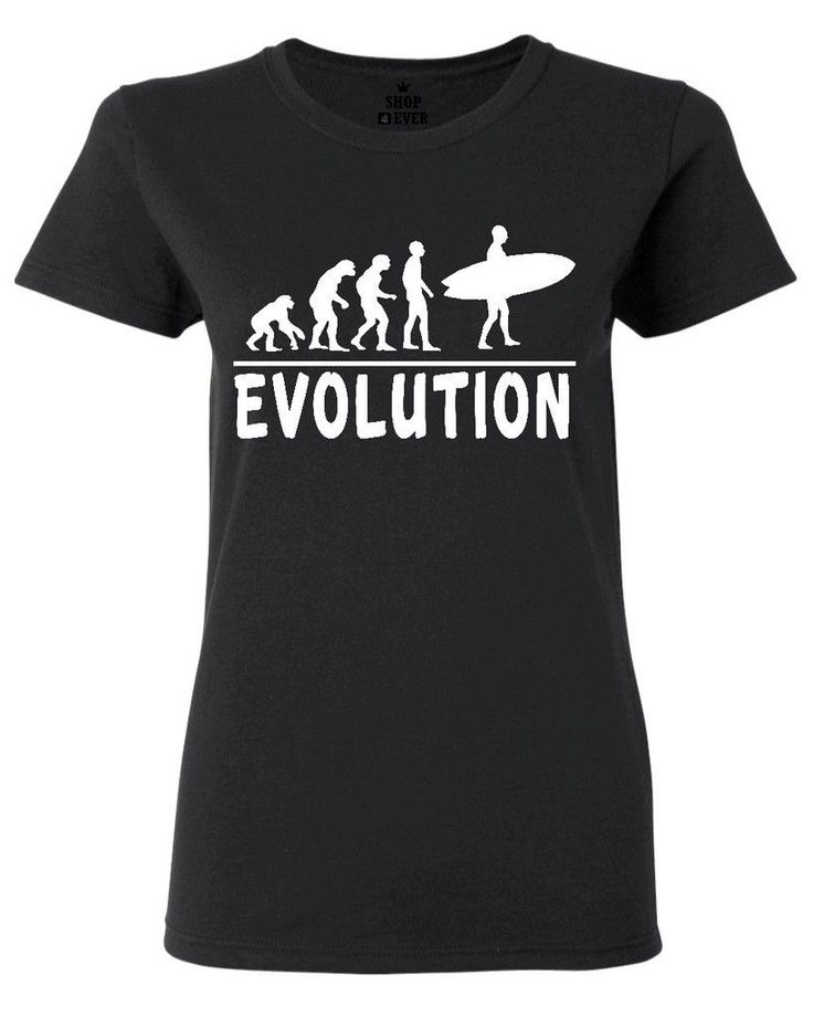 >> Click to Buy << Evolution To Surfer Women's T-Shirt Funny R W/Surfer Board Sporter Shirts Design Short Sleeve T Shirt New Arrival Summer Style #Affiliate