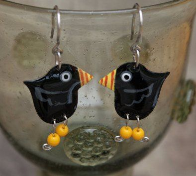 Funny Earrings by #CinkyLinky