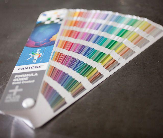 Letterpress Printing: Pantone Formula Guide