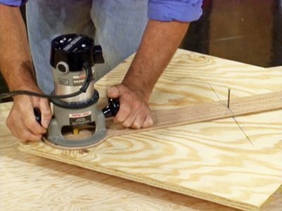 how to cut a perfect circle in wood (for the built in vertical smoker)