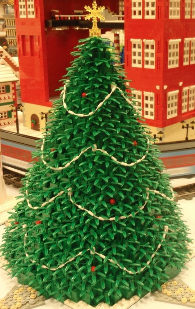 *INSTRUCTIONS ONLY* LEGO Christmas tree 4 winter village 10229 10216 10235 10222