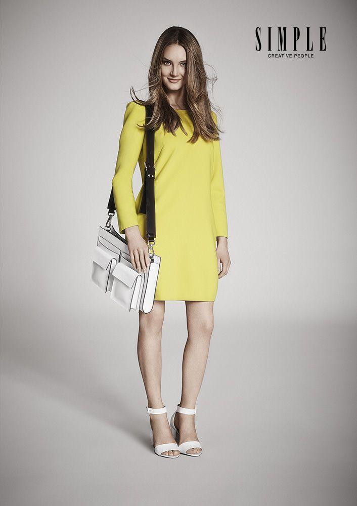 Wiosenny powiew przynoszą również kobiece sukienki, lejące się formy i soczyste kolory.  #GaleriaMokotow #galmok #Simple #MarianaIdzkowska #fashion #moda #wiosna #kolory #lato #new #musthave #inspiracje #sklep #zakupy #lookbook #kolekcja #shopping #mokotow #2014