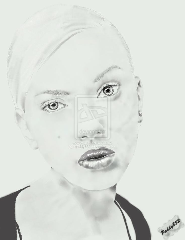 Scarlett Johnassen by paddy852.deviantart.com on @deviantART