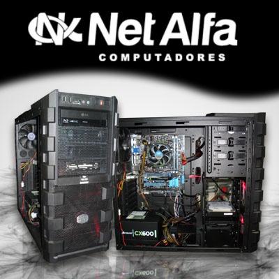 PC Gamer Haf 912 com Gravador de Blu Ray  PC Gamer com processador Intel I7 3º Geração, 8GB Ram, HD 1 Tera, VGA PNY Fermi 600, Fonte 600w Corsair, MB Asus P8B75-M, Gabinete cooler master Haf 912 e Gravador de Blu Ray.   Acesse nosso site e fique por dentro das novidades  http://www.netalfa.com.br/