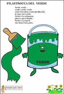 A Scuola con Poldo: Scopriamo i colori: il Verde