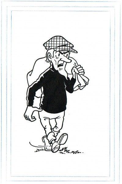 Paul Geerts. Origineel De Gladde Glipper Kwartet. Zip. 1976 - W.B.