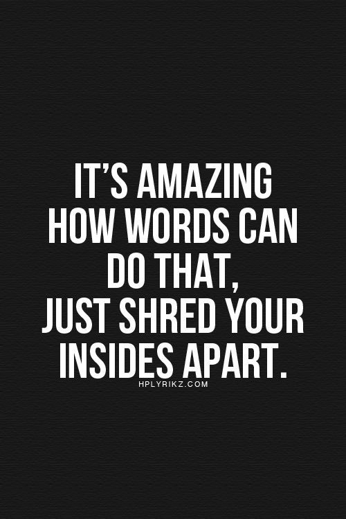 Hurtful Quotes The 25 Best Words Hurt Quotes Ideas On Pinterest  Hurt Quotes .