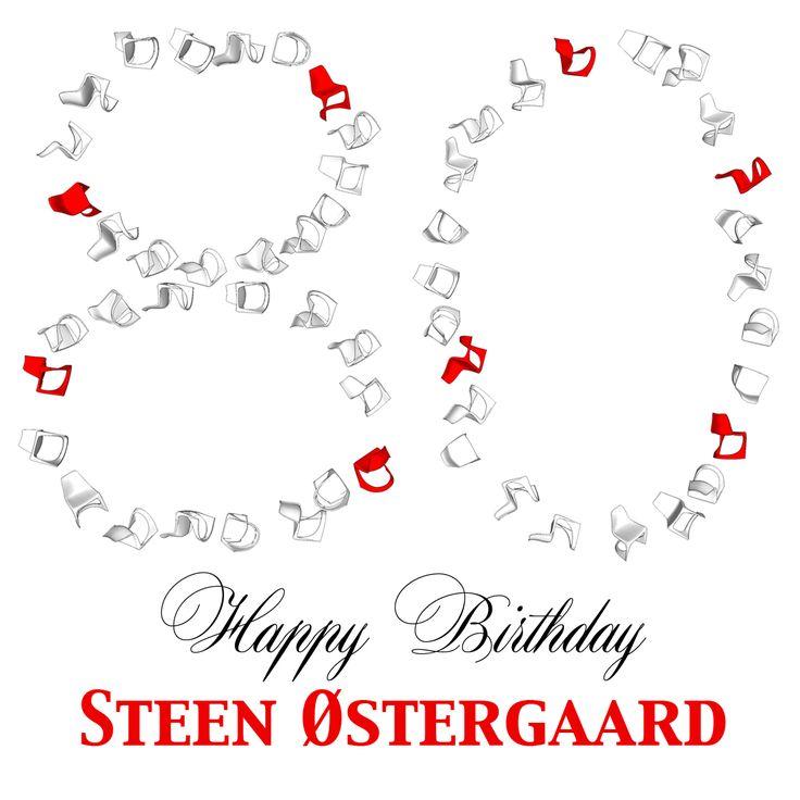 The danish furniture designer and architect Steen Ostergaard is turning 80 today! Congratulations and happy happy Birthday :) #modonation #danishdesign #midcenturymodernfurniture #nielaus