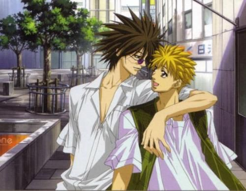 ginji and ban relationship