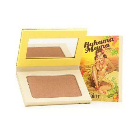 TheBalm Bahama Mama Bronzer- Great for contouring. Is has the deep grayish tones instead of orange