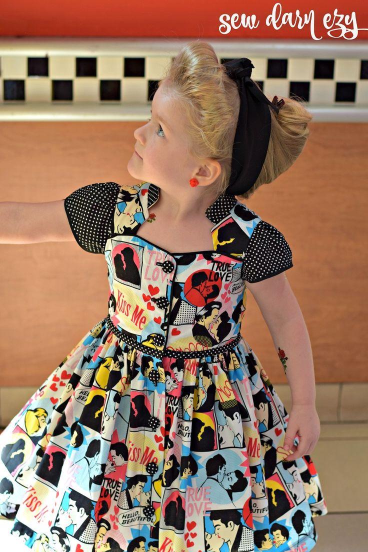 118 best Robes/ tuniques Filles images on Pinterest | Etuikleider ...