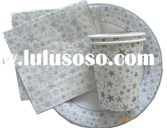 Silver Star Paper Plates | star carrier paper, star carrier paper Manufacturers in LuLuSoSo.com ...