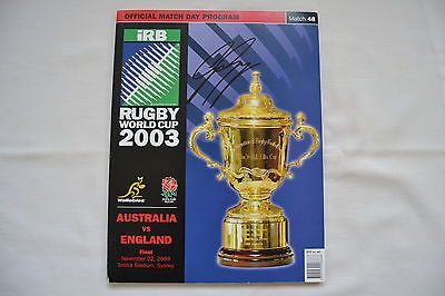 2003 rugby world cup final england v australia  #programme #signed #george gregan,  View more on the LINK: http://www.zeppy.io/product/gb/2/162095646743/