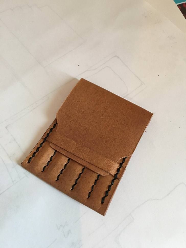 Leather Needle Holder Needle Holder Leather Leather Projects