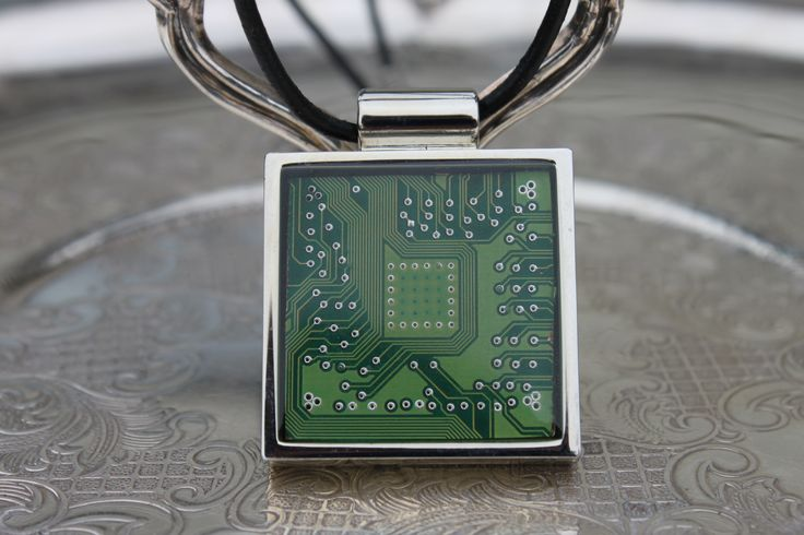 Circuit Board Pendant created by Modern Artifacts