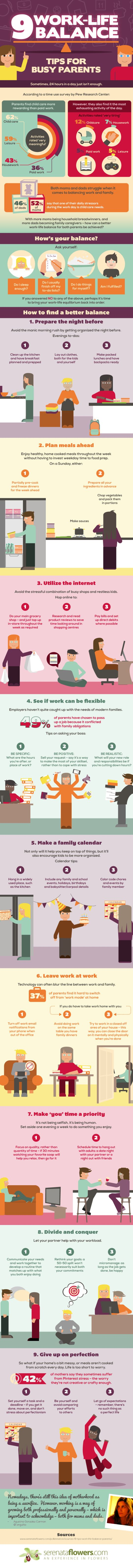 9 Work-Life Balance Tips for Busy Mums