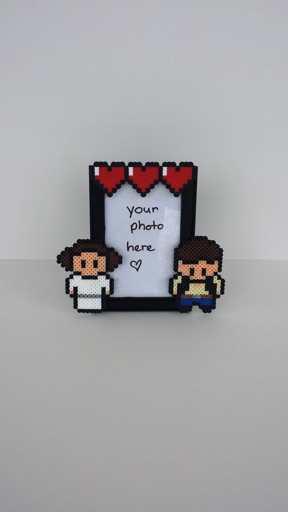 Star Wars Picture Frame Couples Picture Frame por BurritoPrincess