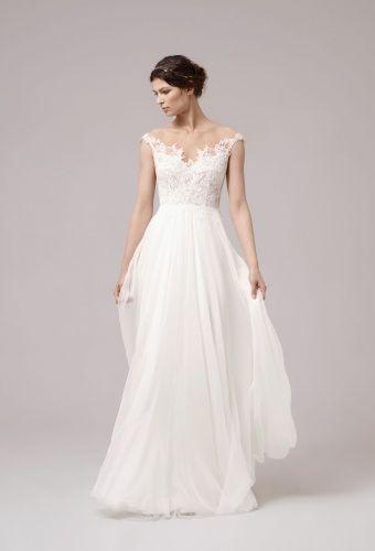MARCIE Anna Kara Collection 2017, ethereal wedding dress, www.wildflowerbridal.com