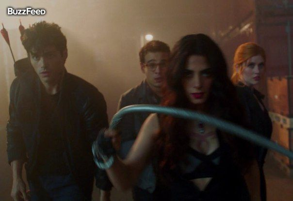 #TMI #TheMortalInstruments #Shadowhunters #Movie  Опасная Изабель Лайтвуд.