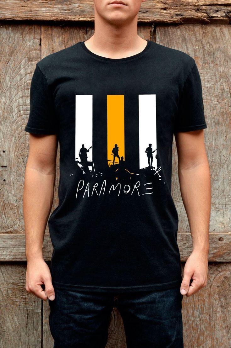 Men T Shirt Hayley Williams Paramore Still Into You Rock Band New Black T Shirt Cool Shirt Designs Awesome Shirt Designs New T Shirt Design