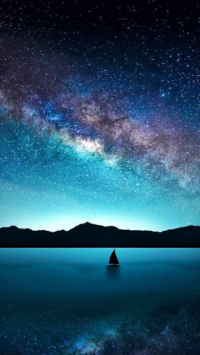 Segeln Sie auf den Wolken | Nur Space Stuff #space #universe #astronaut #galaxy #spaceart #artdrawings #illustration #milkyway #nebula