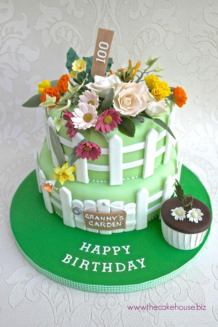 The 25 best Garden birthday cake ideas on Pinterest Garden