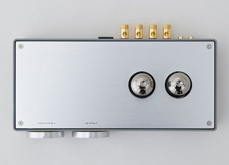 Vacuum Tube Amplifier by Japanese designer Koichi Futatsumata, founder of Case-Real for Elekit.
