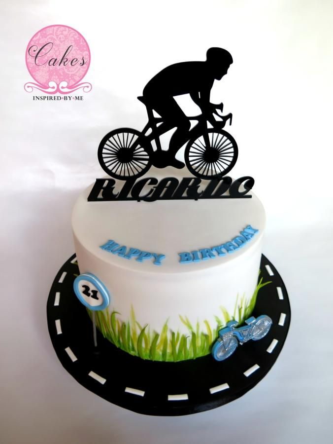 Cycling Cake By Aneesa Bike Cakes Cake Birthday Cake