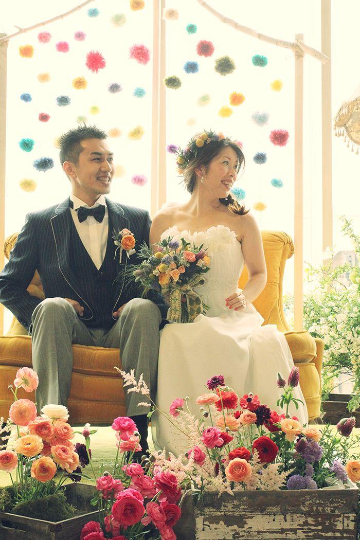 テーマウェディング事例:HOME WEDDING crazy wedding (クレイジー・ウェディング)