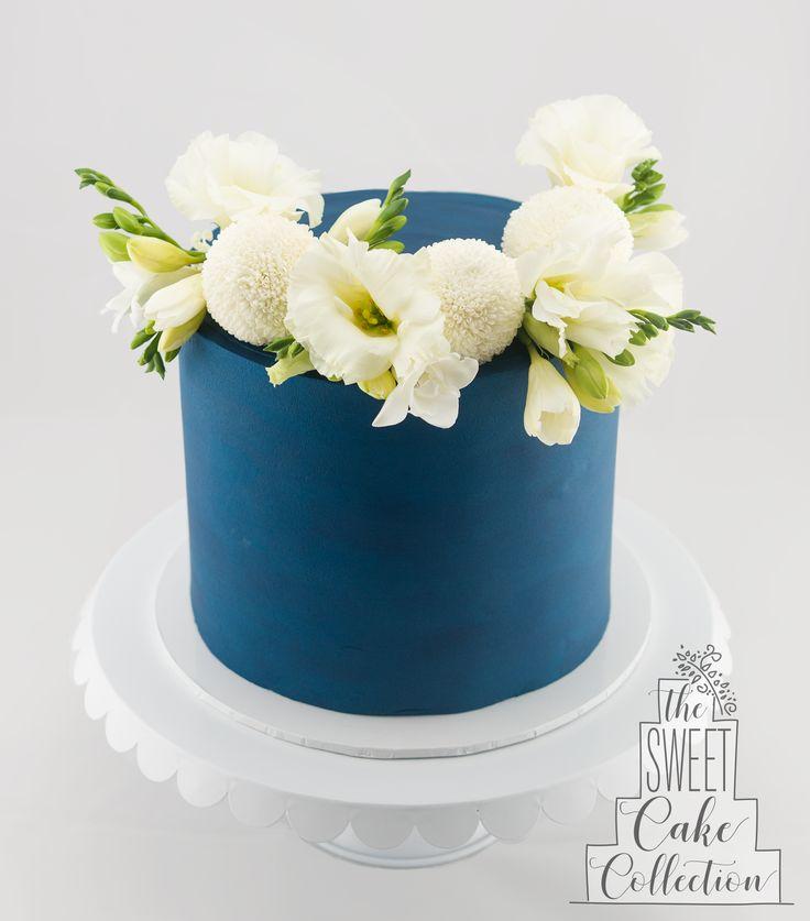 Stunning Sapphire Birthday Cake