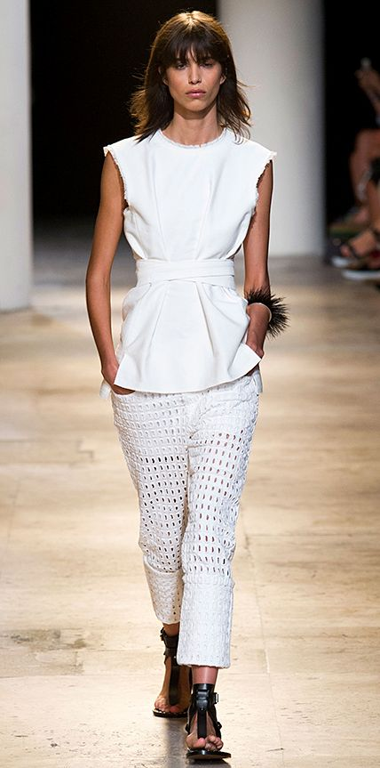 Isabel Marant    Runway Looks We Love: London, Milan, and Paris Fashion Weeks - Spring/Summer 2015 from #InStyle