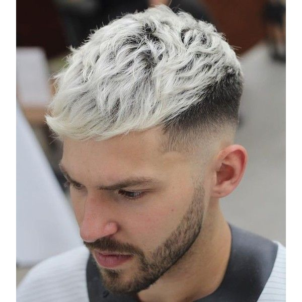 20 Stylish Men's Hipster Haircuts ❤ liked on Polyvore featuring men's fashion