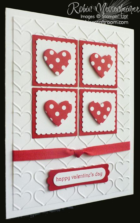 robinscraftroomcom blog archive fun with valentine cards card 4 - Photo Valentine Cards