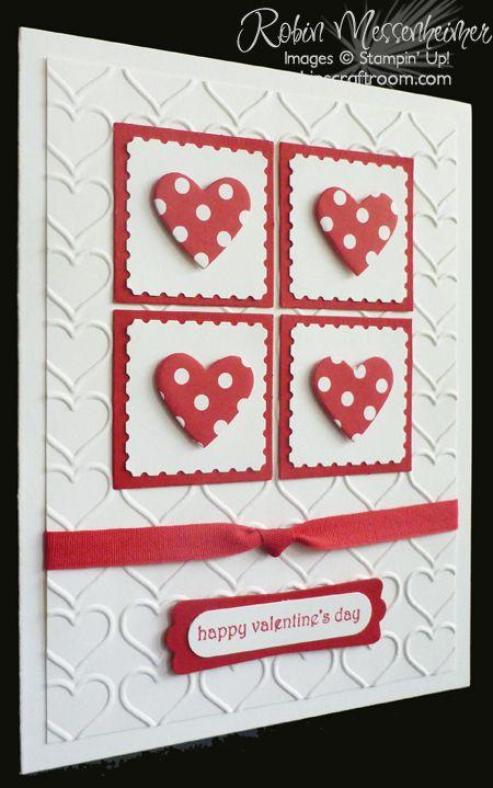 RobinsCraftRoom.com » Blog Archive » Fun with Valentine Cards – Card #4