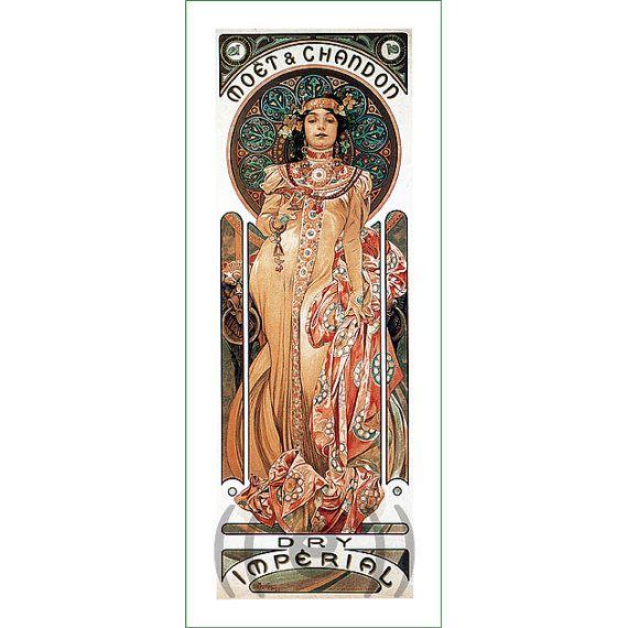 fabric panel - painting by Alphonse Mucha (26)